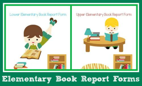 Book Report Forms for both lower and upper elementary students