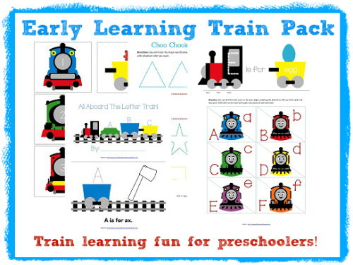 Early Learning Train Pack