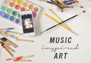 Drawing Connections: Music Inspired Art from Playful Learning